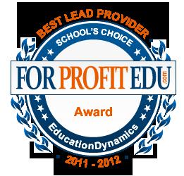 best EDU lead provider 2012